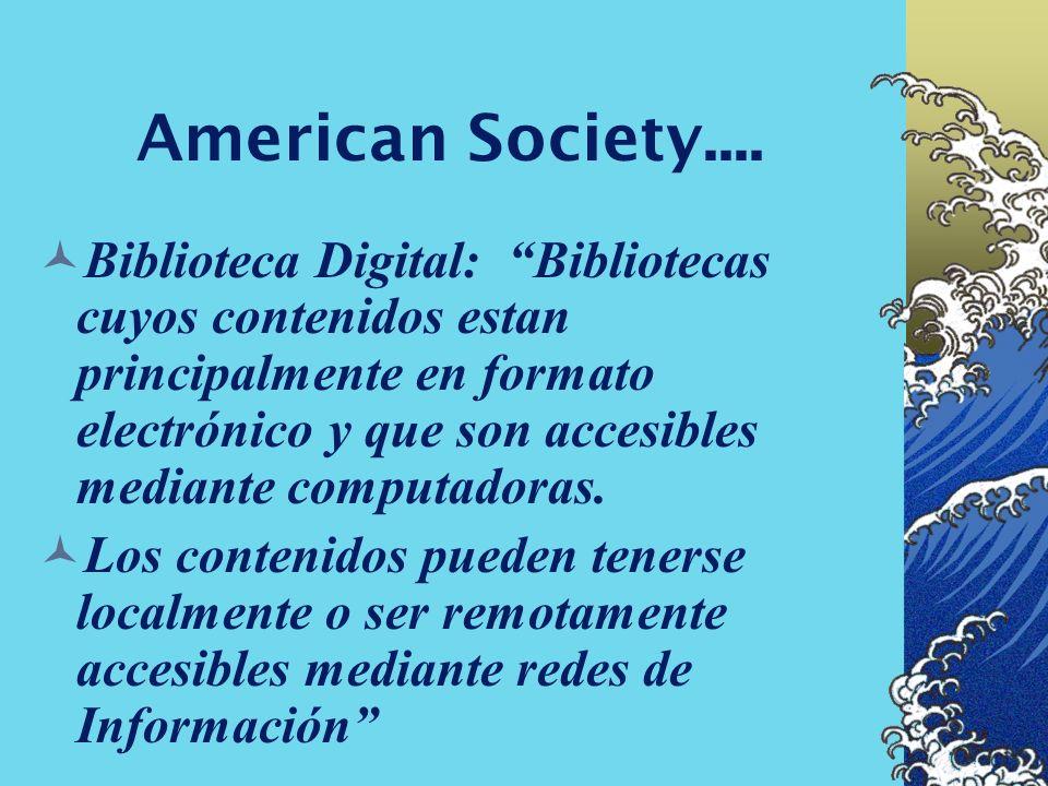 American Society....