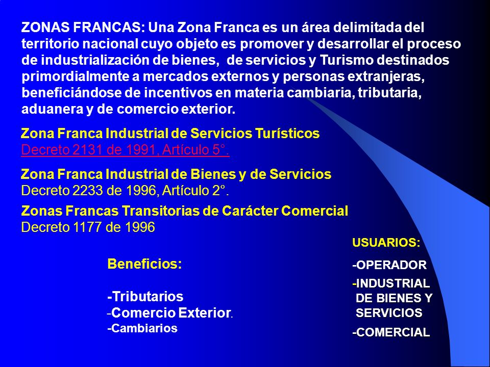 Zona Franca Industrial de Servicios Turísticos