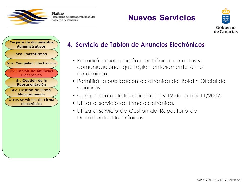 Srv. Compulsa Electrónica Otros Servicios de Firma
