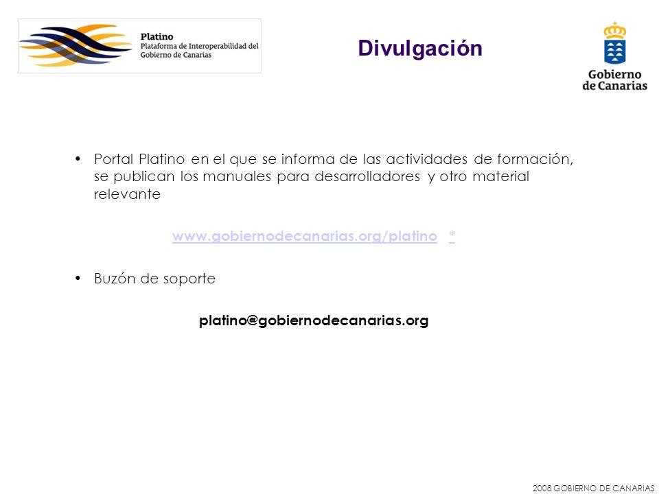 www.gobiernodecanarias.org/platino *