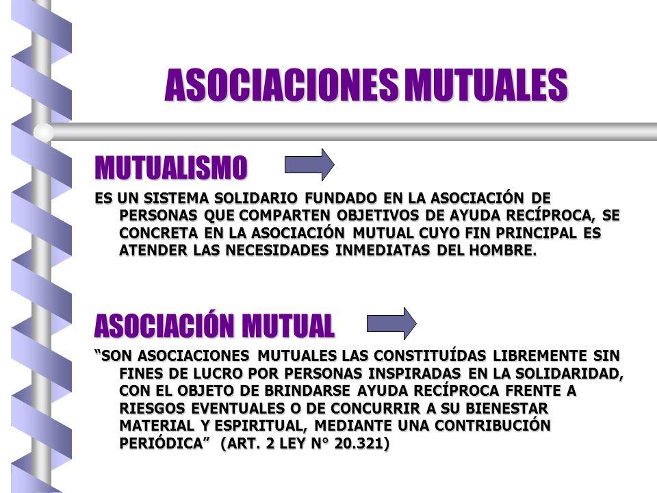 ASOCIACIONES MUTUALES
