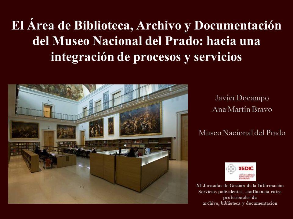 Javier Docampo Ana Martín Bravo Museo Nacional del Prado