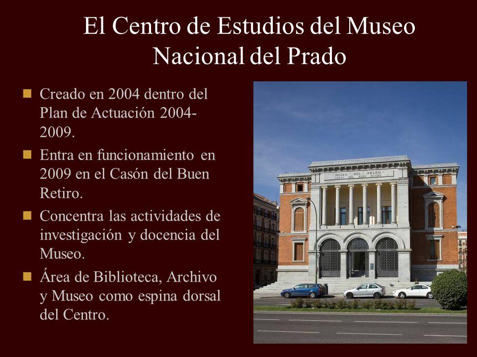 El Centro de Estudios del Museo Nacional del Prado