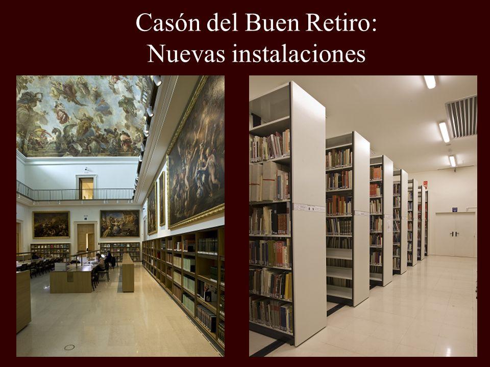 Casón del Buen Retiro: Nuevas instalaciones