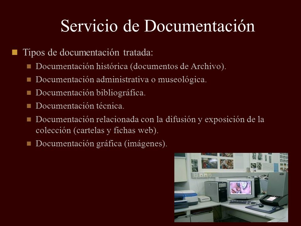 Servicio de Documentación