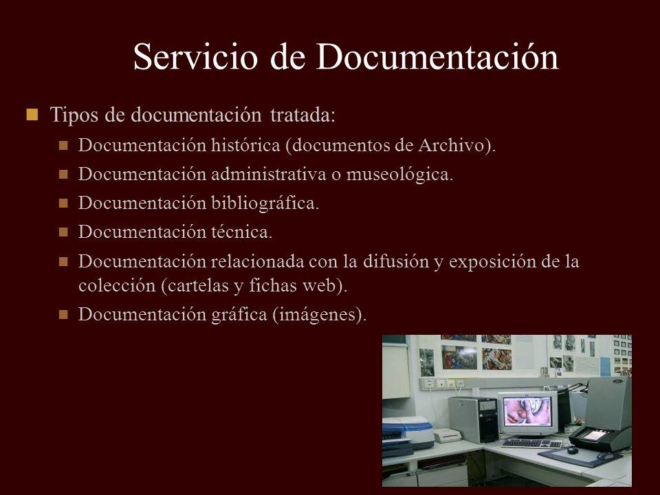 Servicio de Documentación