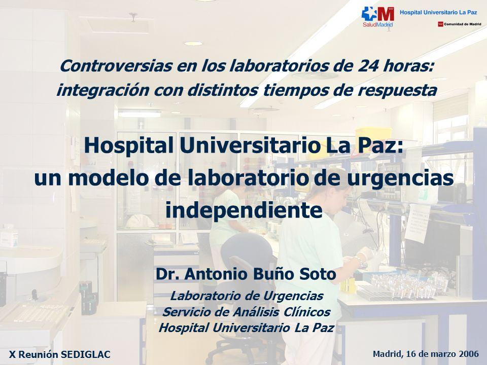 Hospital Universitario La Paz: