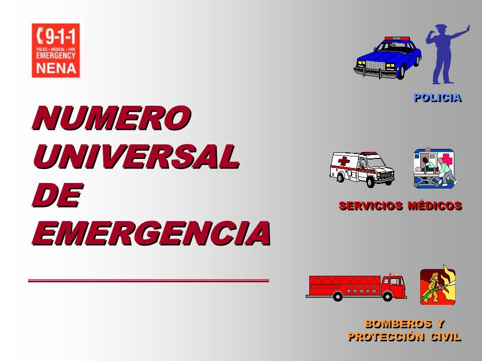 NUMERO UNIVERSAL DE EMERGENCIA