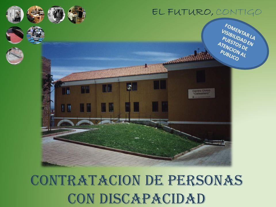 CONTRATACION DE PERSONAS CON DISCAPACIDAD