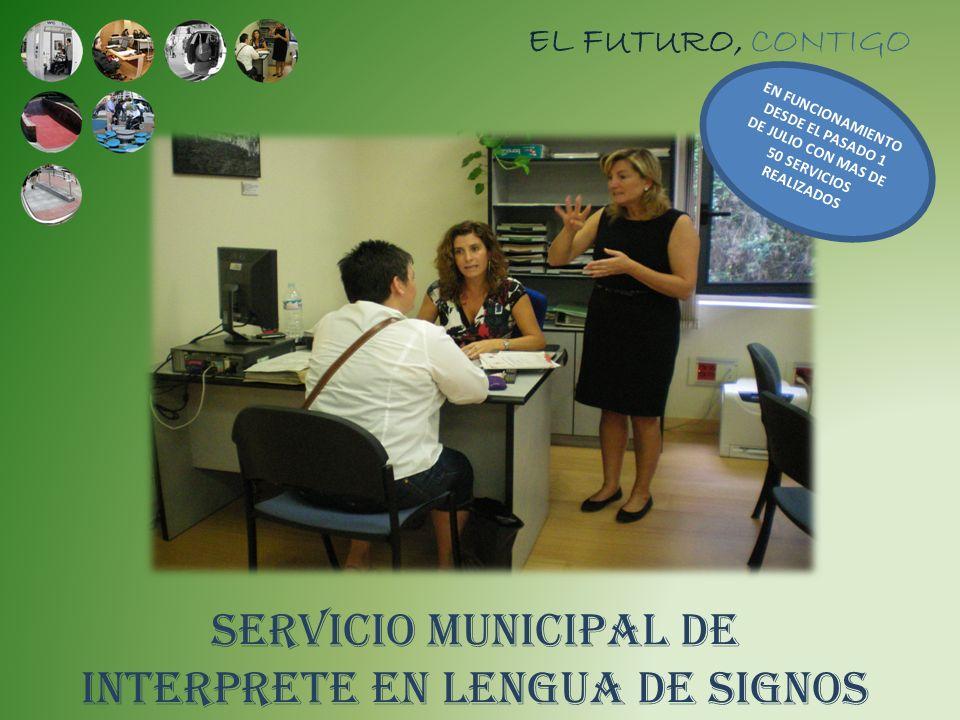 SERVICIO MUNICIPAL DE INTERPRETE EN LENGUA DE SIGNOS