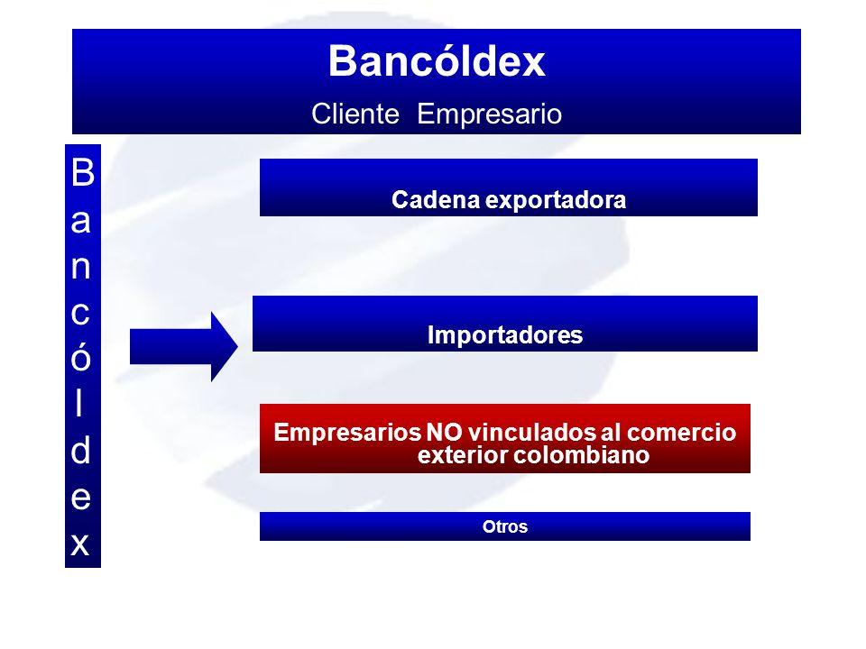 Empresarios NO vinculados al comercio exterior colombiano