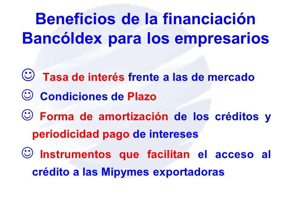 Beneficios de la financiación Bancóldex para los empresarios