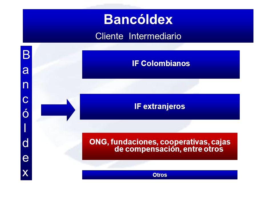 ONG, fundaciones, cooperativas, cajas de compensación, entre otros