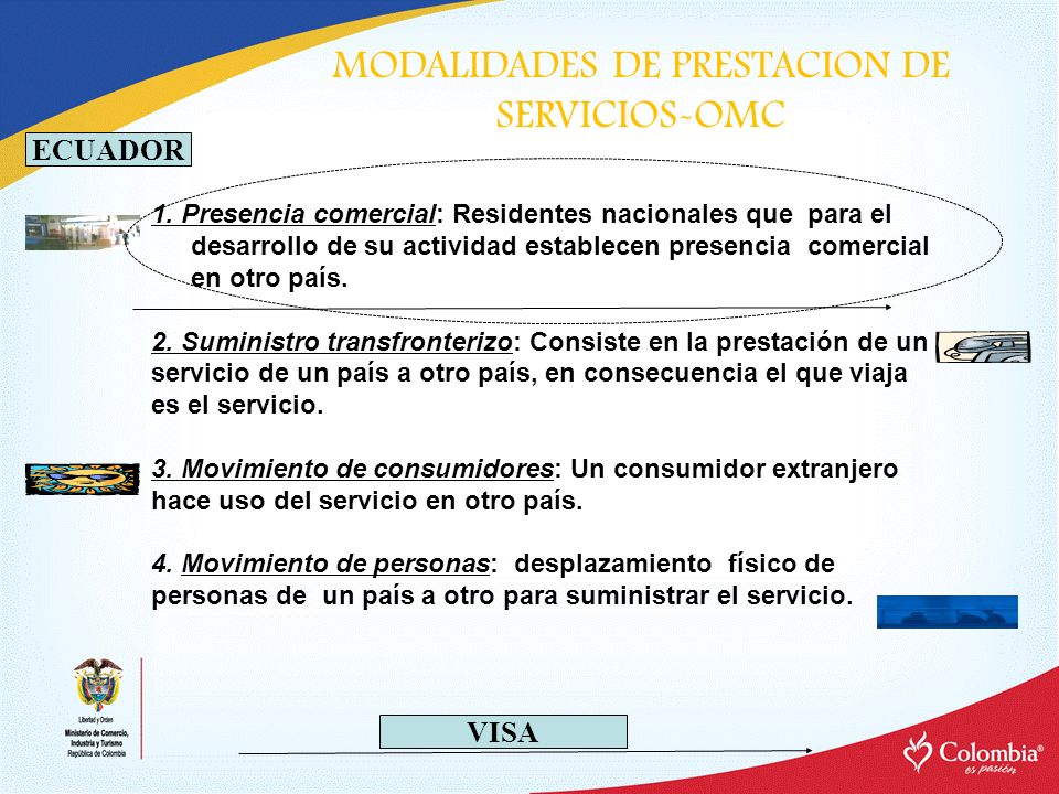 MODALIDADES DE PRESTACION DE SERVICIOS-OMC