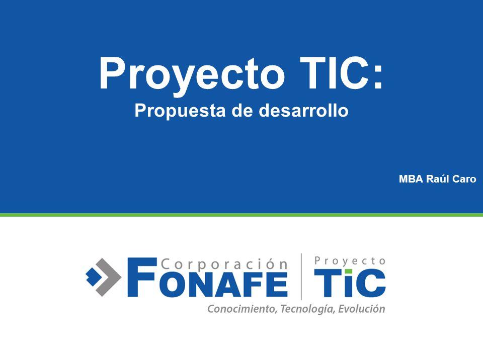 Proyecto TIC: Propuesta de desarrollo