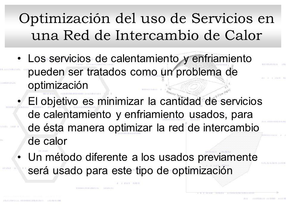 Optimización del uso de Servicios en una Red de Intercambio de Calor