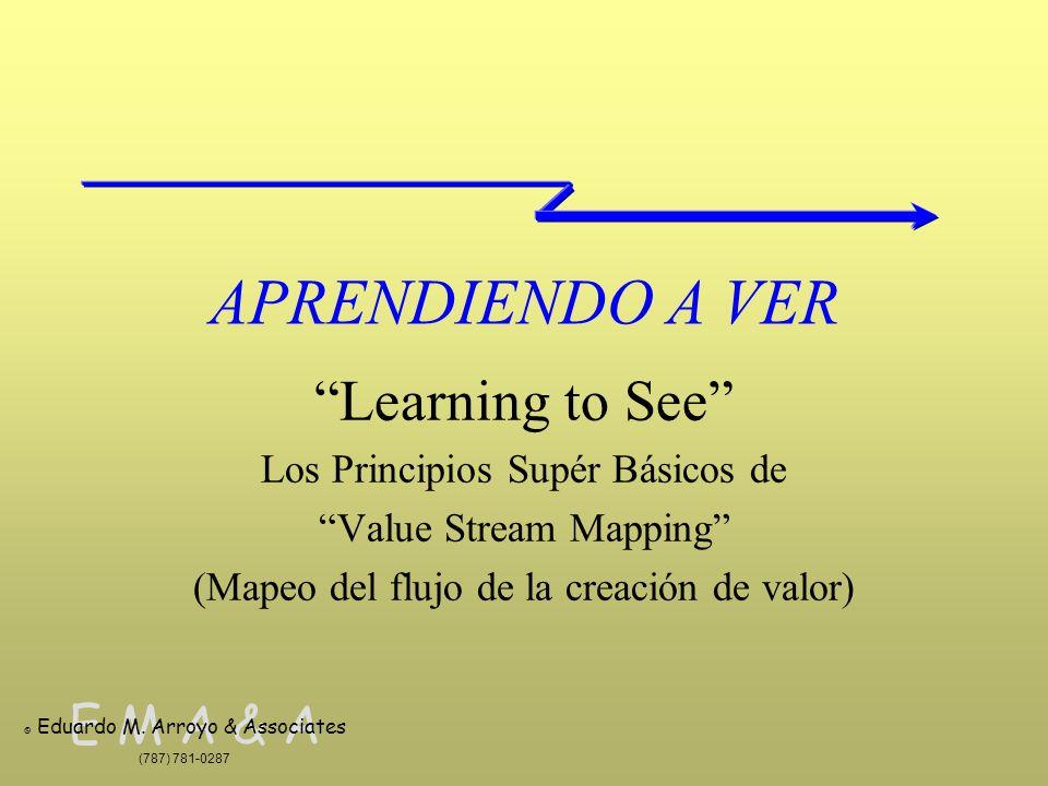 APRENDIENDO A VER Learning to See Los Principios Supér Básicos de