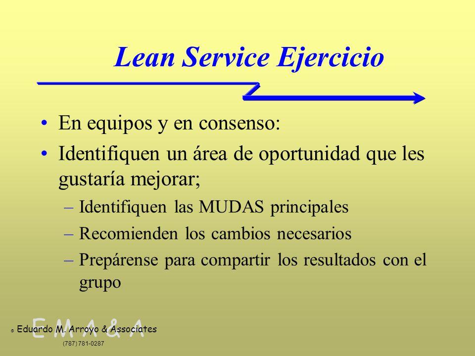 Lean Service Ejercicio