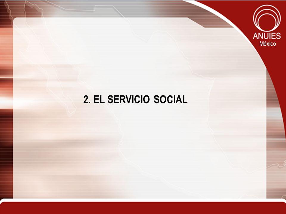 2. EL SERVICIO SOCIAL