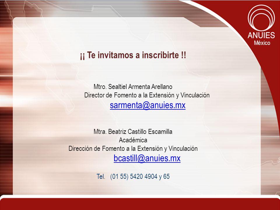 ¡¡ Te invitamos a inscribirte !!