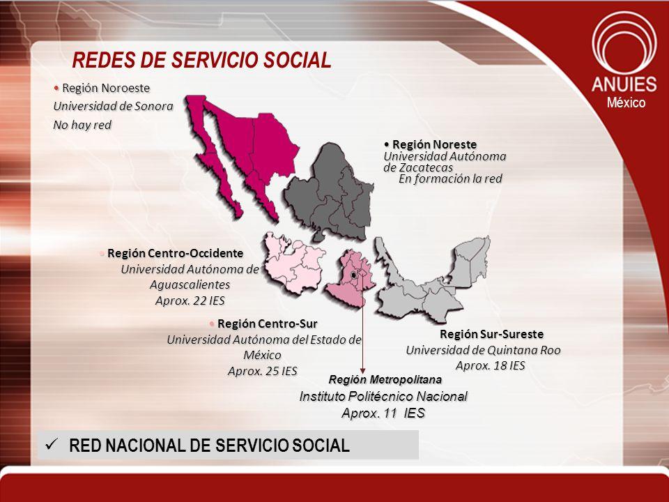 REDES DE SERVICIO SOCIAL