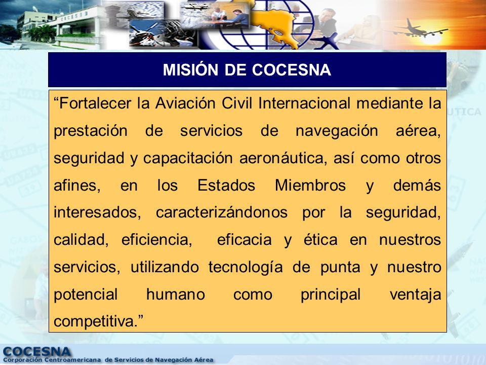 MISIÓN DE COCESNA