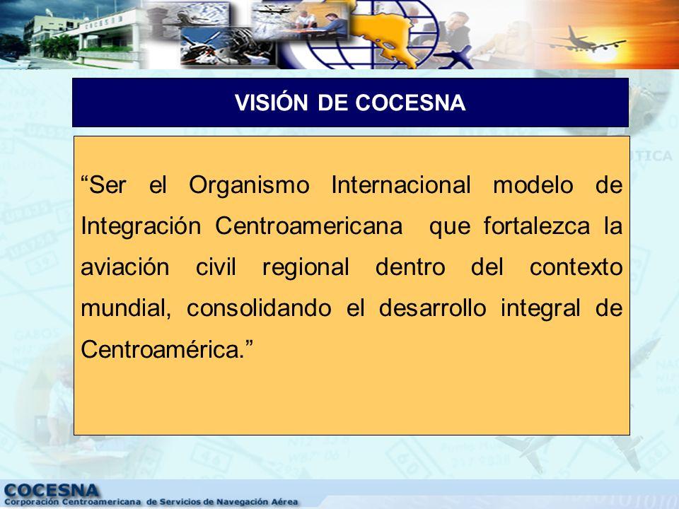 VISIÓN DE COCESNA