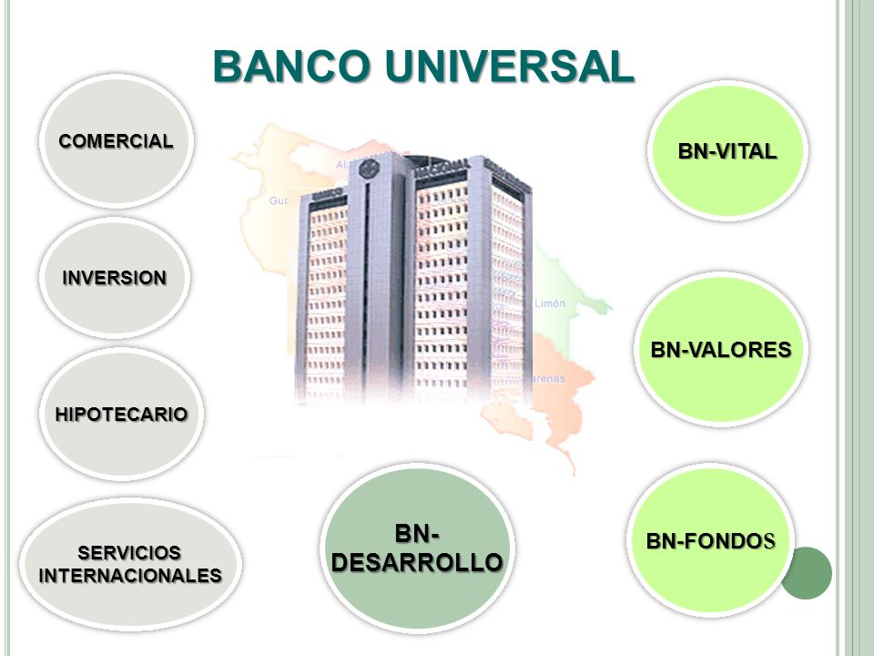 BANCO UNIVERSAL BN- DESARROLLO BN-VITAL BN-VALORES BN-FONDOS COMERCIAL