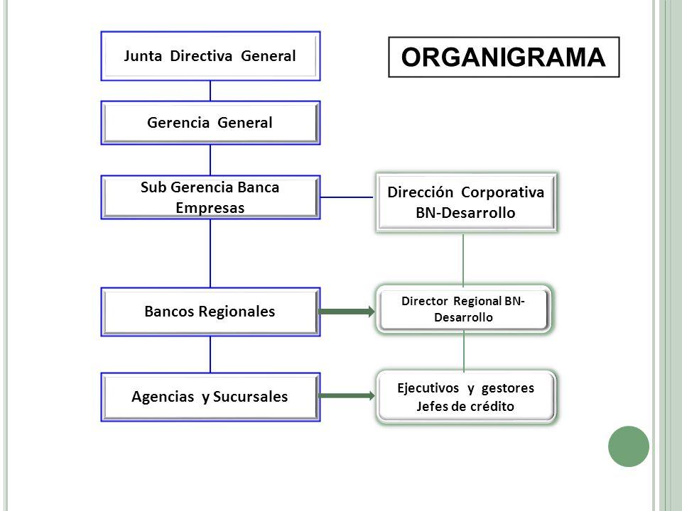 ORGANIGRAMA Junta Directiva General Gerencia General