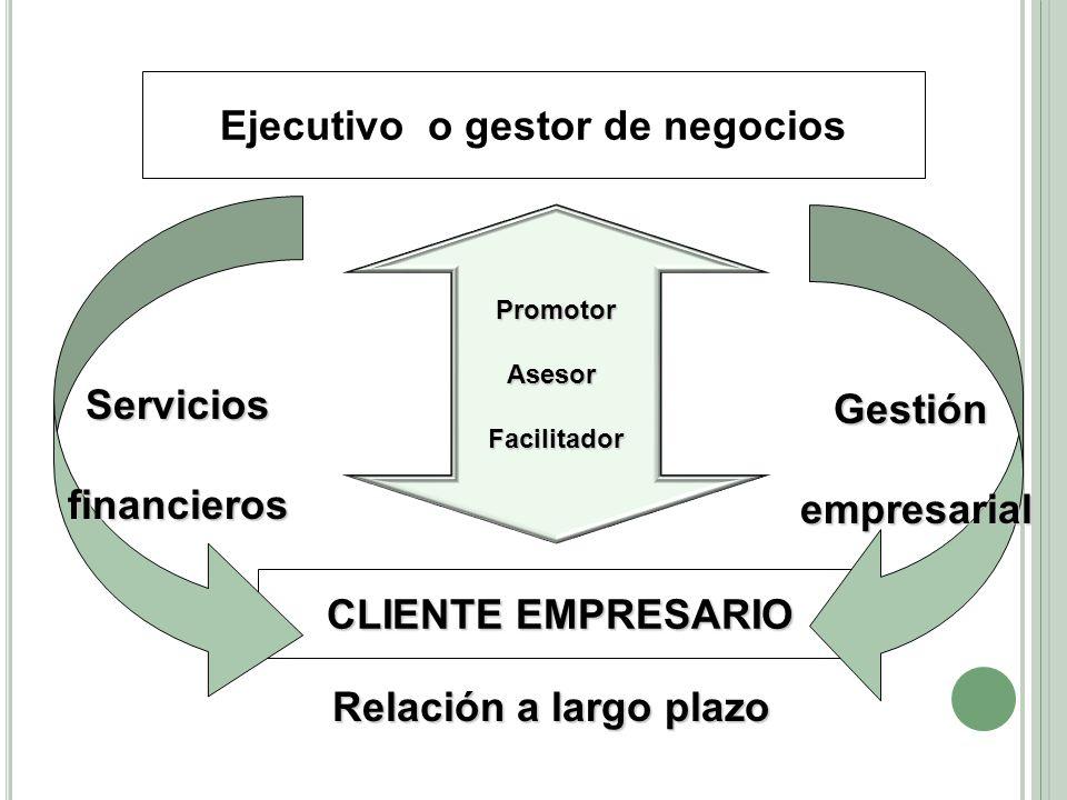 Ejecutivo o gestor de negocios