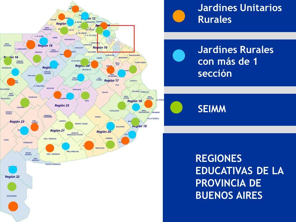 REGIONES EDUCATIVAS DE LA PROVINCIA DE BUENOS AIRES