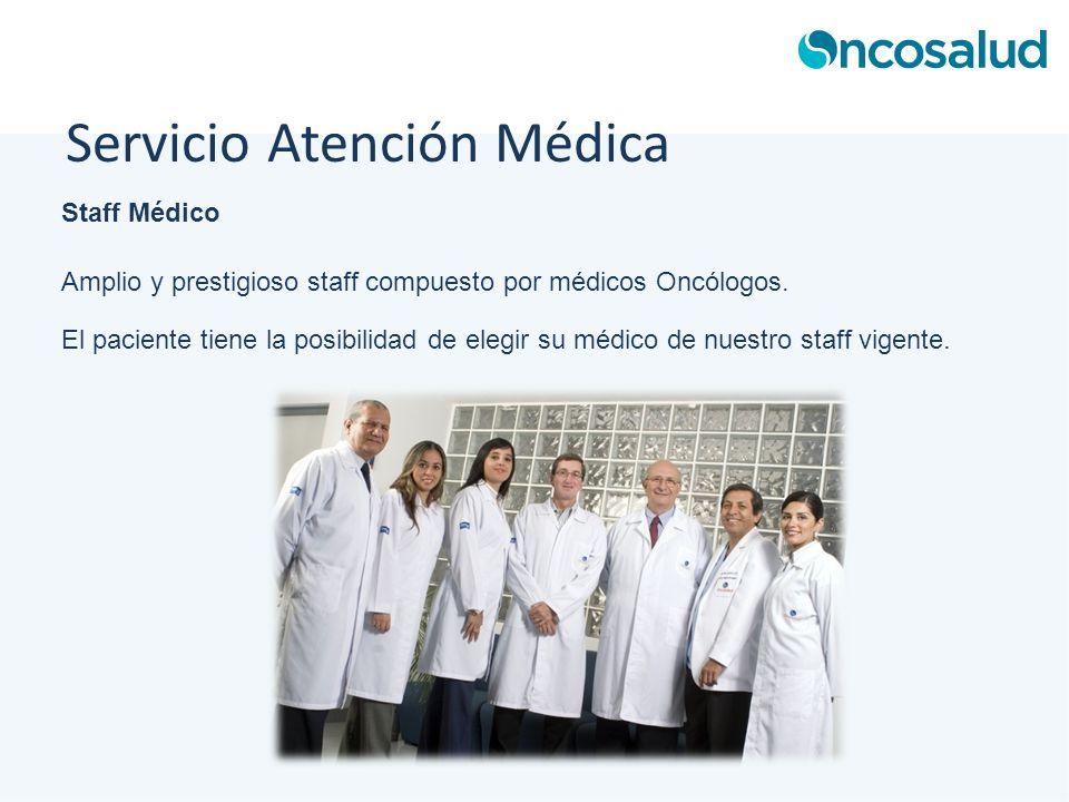 Servicio Atención Médica