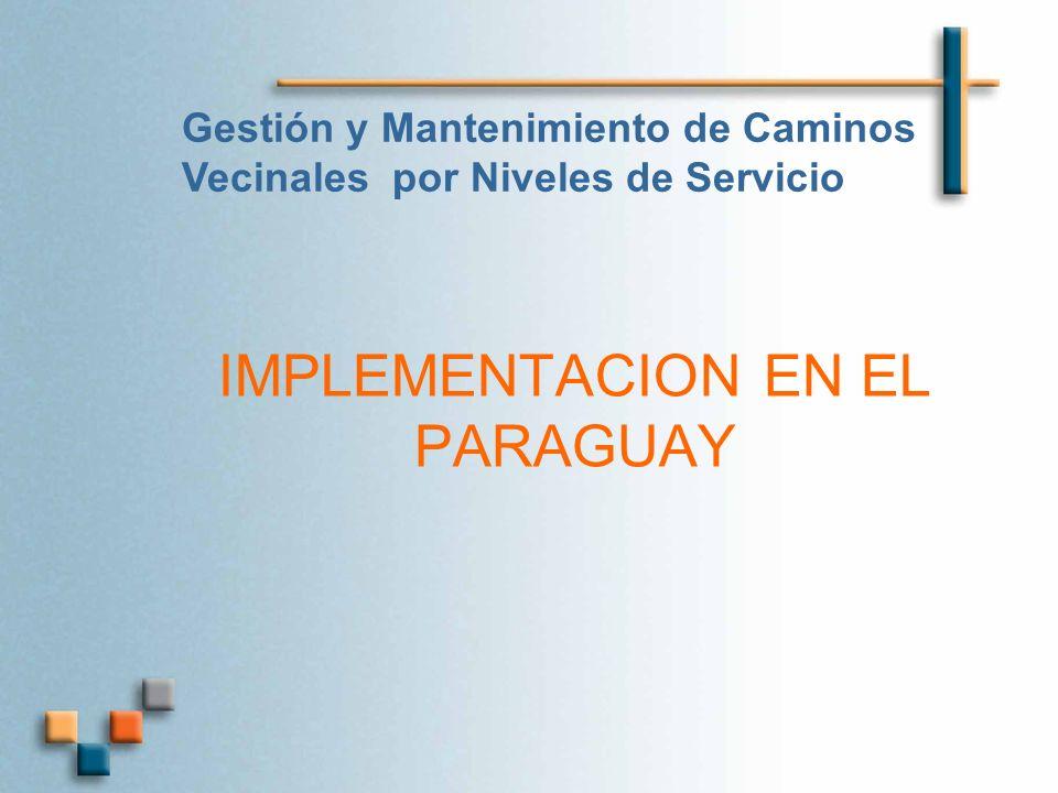 IMPLEMENTACION EN EL PARAGUAY
