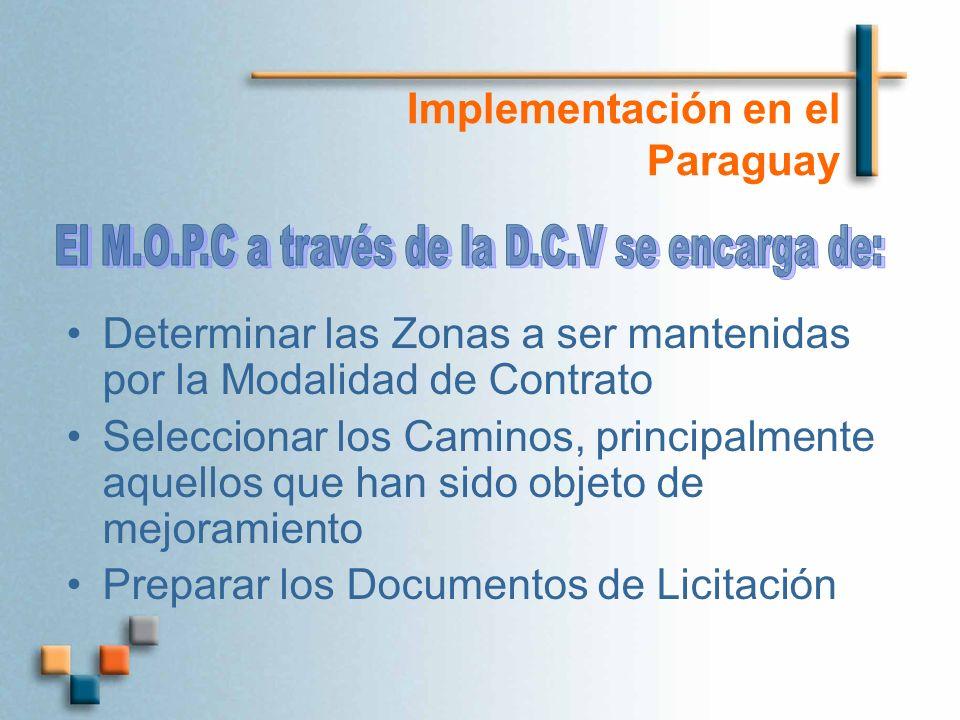 Implementación en el Paraguay