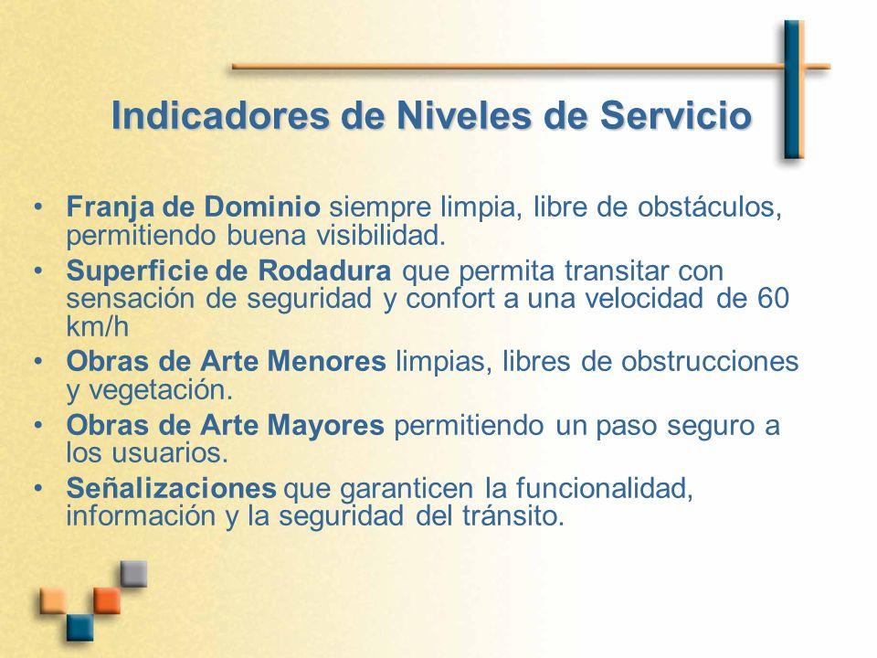 Indicadores de Niveles de Servicio