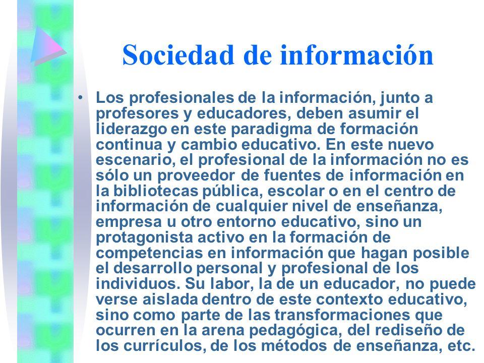 Sociedad de información