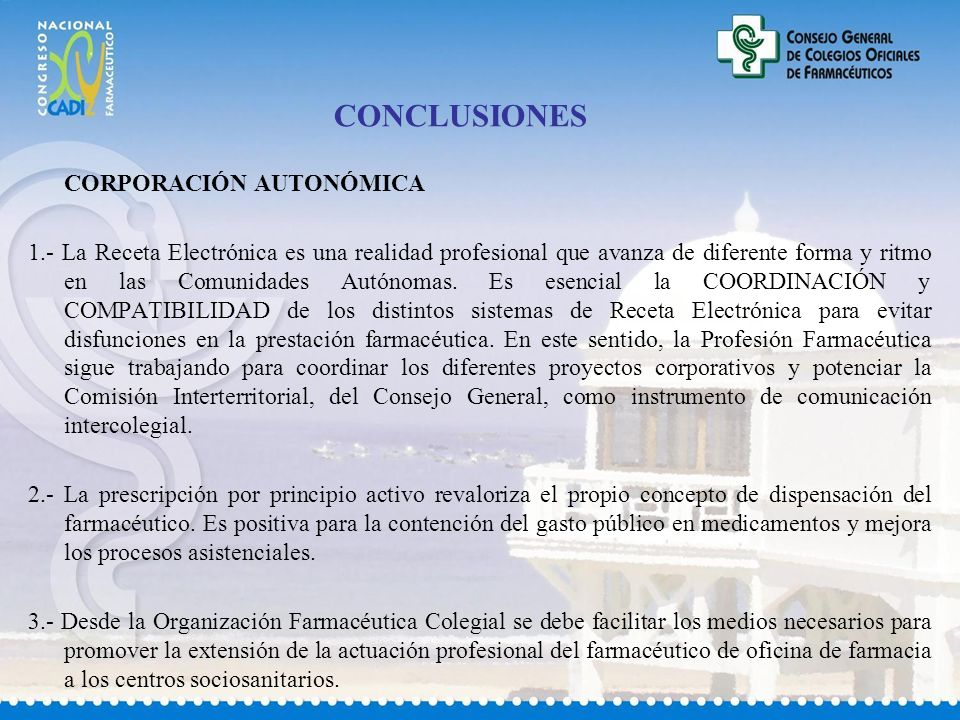 CONCLUSIONES CORPORACIÓN AUTONÓMICA