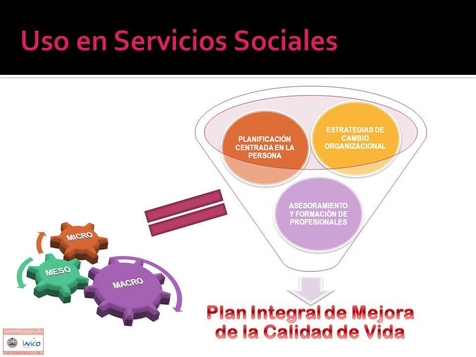 Uso en Servicios Sociales