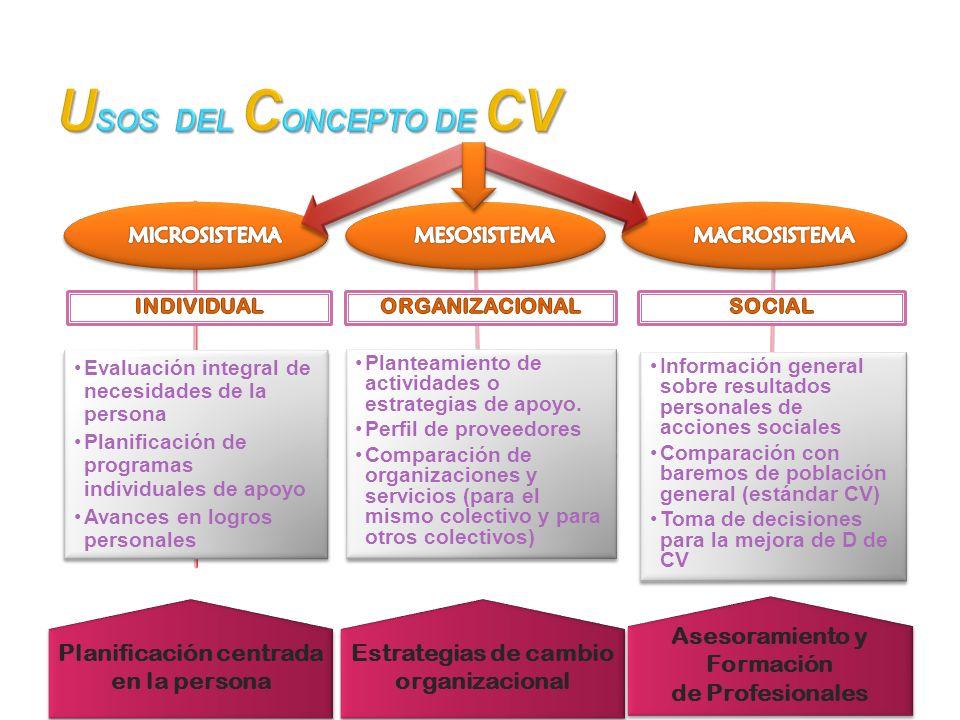 Planificación centrada en la persona Asesoramiento y Formación
