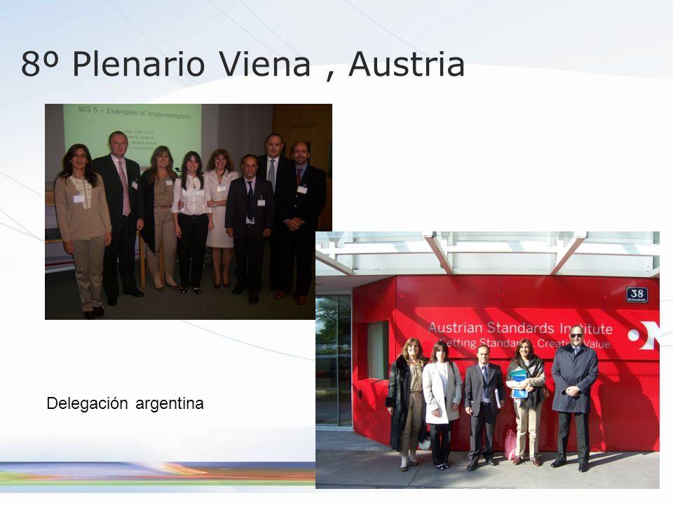 8º Plenario Viena , Austria