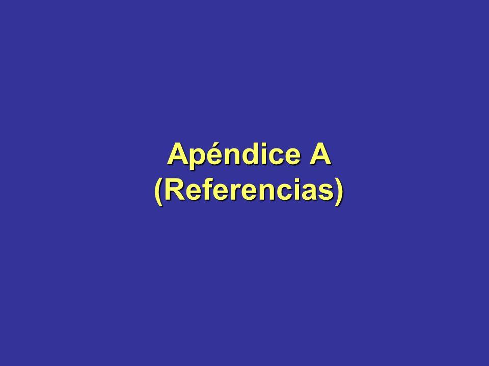 Apéndice A (Referencias)