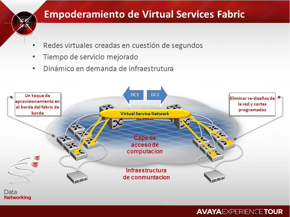 Empoderamiento de Virtual Services Fabric
