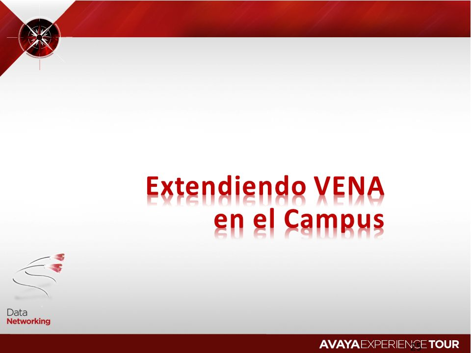 Extendiendo VENA en el Campus 2010 Avaya Inc. All rights reserved.