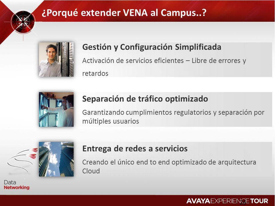 ¿Porqué extender VENA al Campus..