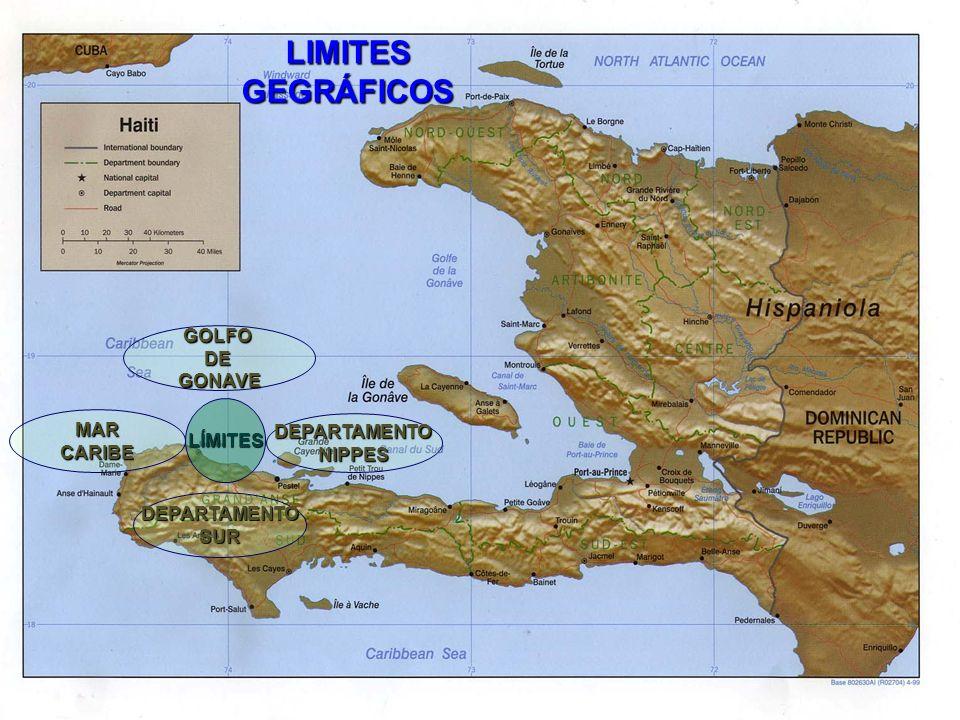 LIMITES GEGRÁFICOS GOLFO DE GONAVE MAR LÍMITES DEPARTAMENTO CARIBE