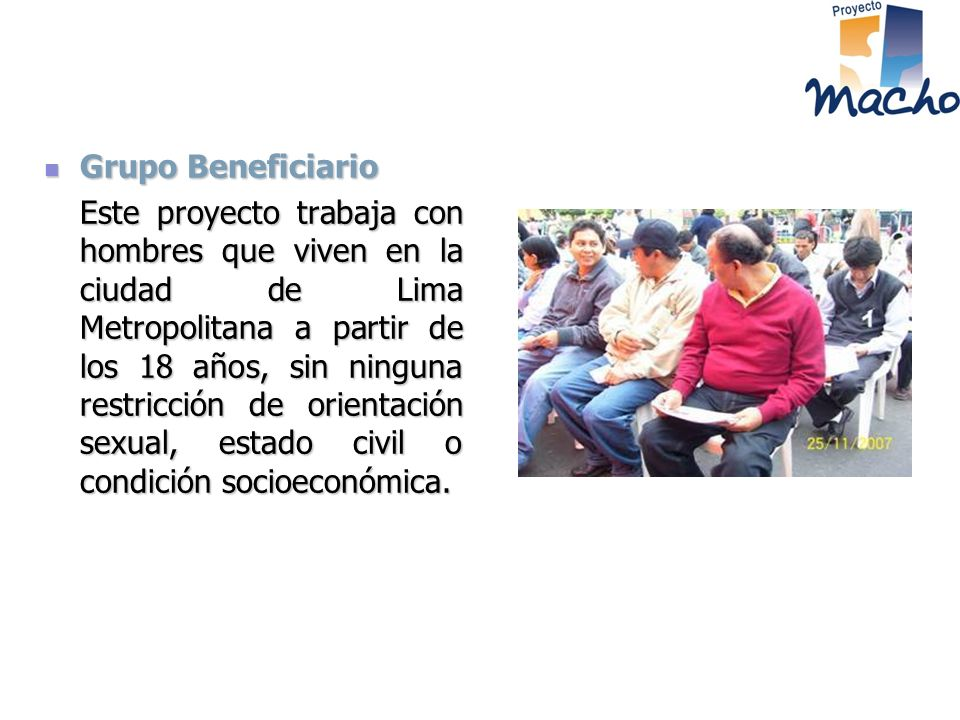 Grupo Beneficiario