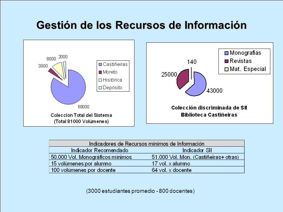 Gestión de los Recursos de Información