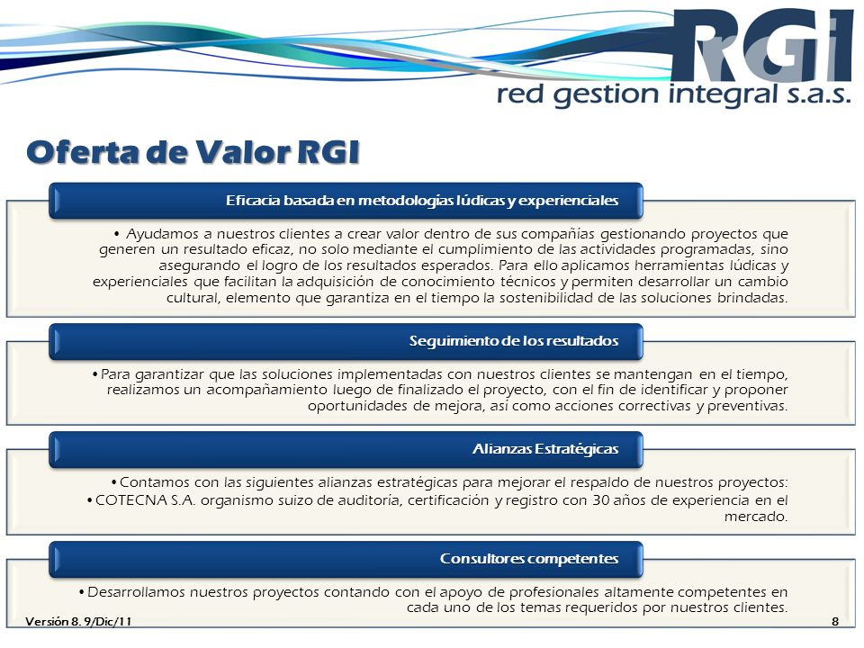 Oferta de Valor RGI