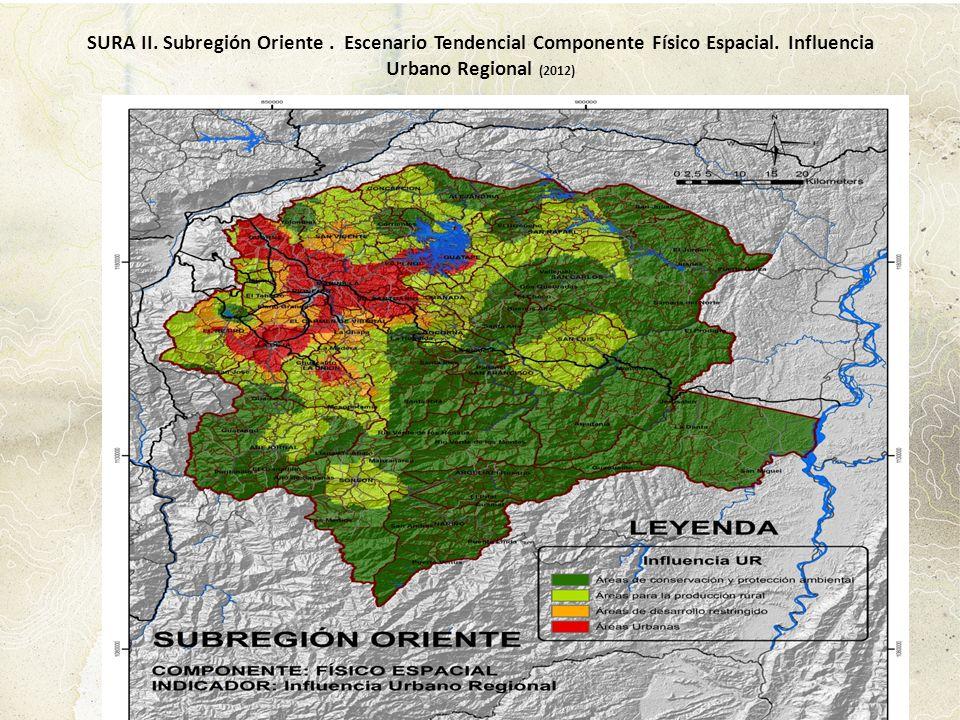 SURA II. Subregión Oriente
