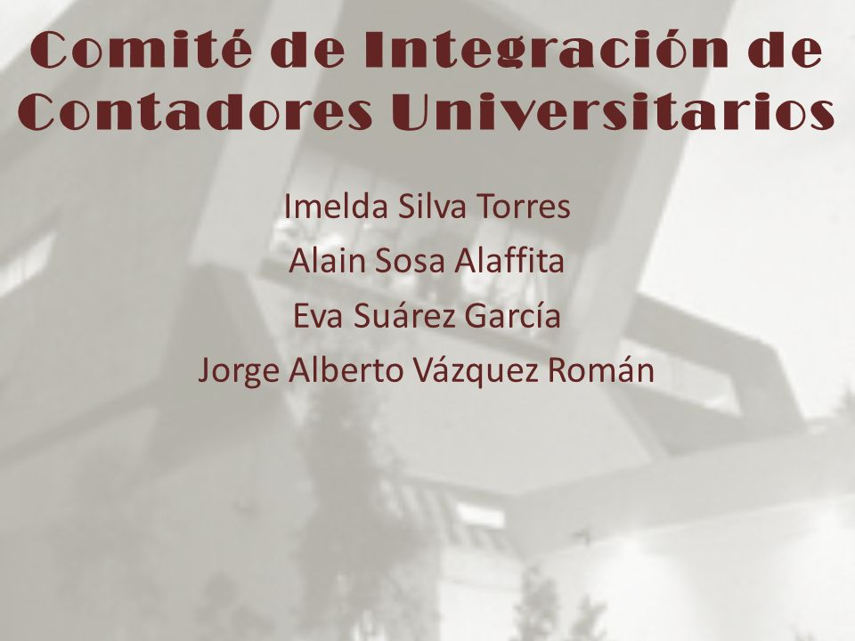 Comité de Integración de Contadores Universitarios